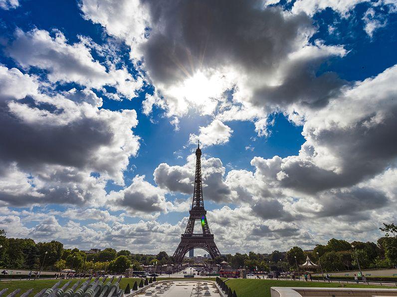 Der berühmte Eifelturm von Paris (c) Tobias Schorr 2017