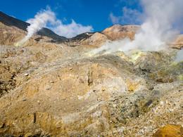 Das Zentrum des Papdayan-Vulkans (c) Tobias Schorr