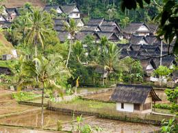 Kleines, typisches Bauerndorf auf Java (c) Tobias Schorr