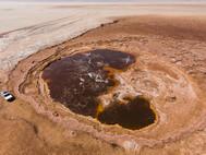 Säuresee in der Danakil-Wüste