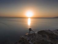 Der Afrera-Salzsee