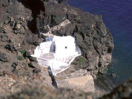 Blick in Richtung Leuchtturm von Akrotiri