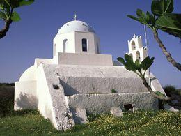 Die Agia Anna Kapelle bei Akrotiri