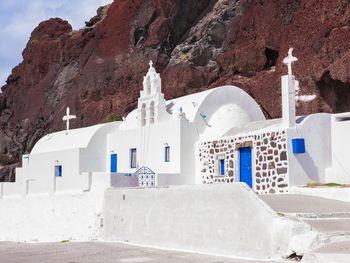Die Kapelle Agios Nikolaos bei Akrotiri (c) Tobias Schorr