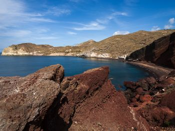 Der rote Strand bei Akrotiri (c) Tobias Schorr