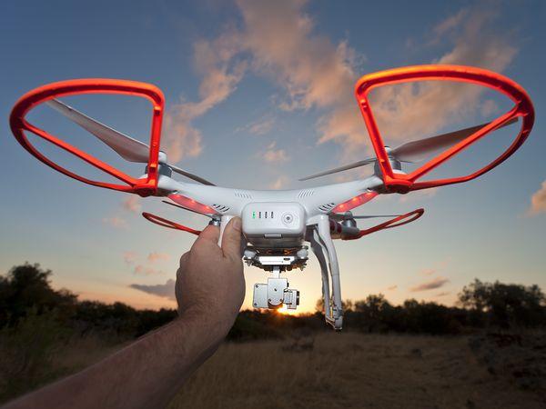 Der Kopter DJI Phantom Vision 2+