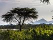 Blick auf den Abaya-See in Richtung der Vulkane bei Arbaminch (c) Tobias Schorr