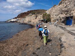 Beginn der Wanderung auf die Akrotiri-Halbinsel (c) Tobias Schorr