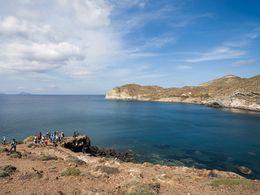 Einer der schönsten Orte auf Santorin - ein ehemalliger Vulkan! (c) Tobias Schorr