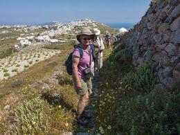 Am Wanderweg von Pyrgos zum Profitis Ilias Gipfel (c) Tobias Schorr