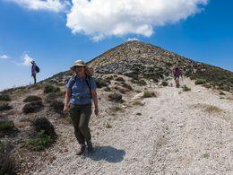 Abstieg vom Profitis Ilias Gipfel (c) Tobias Schorr