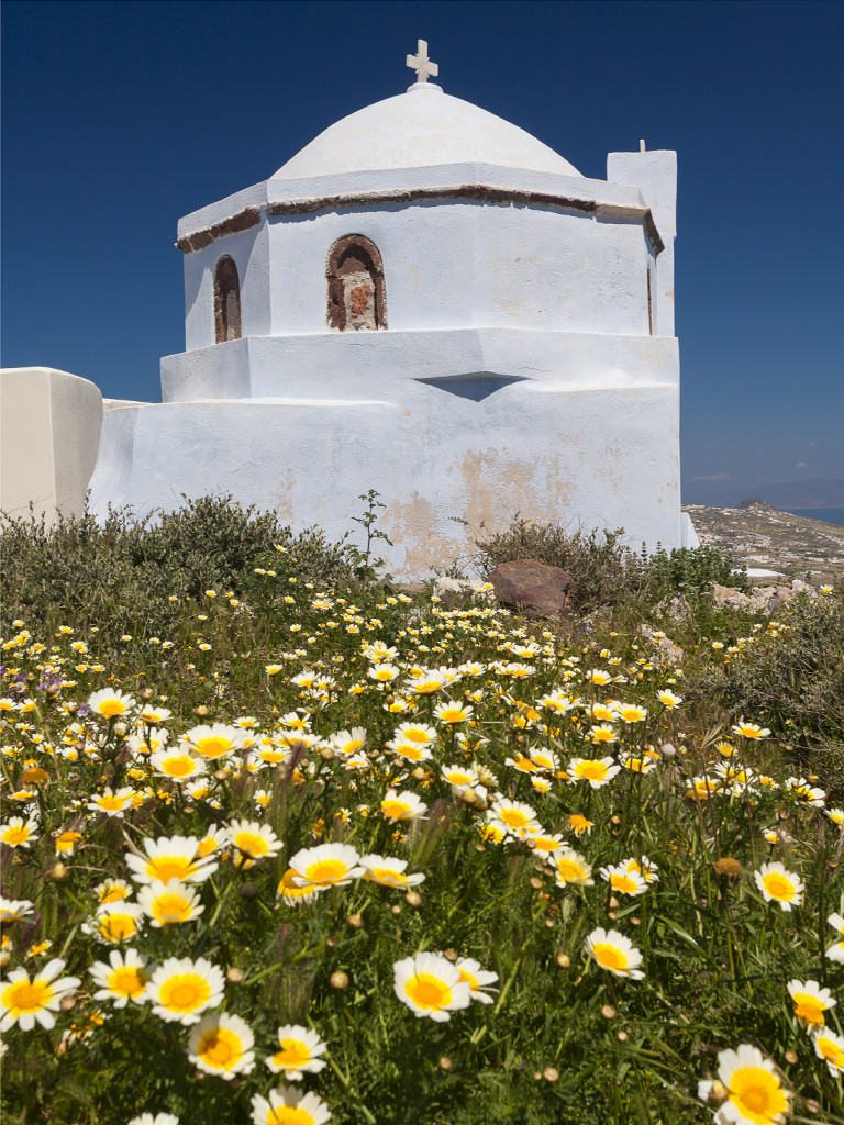 Kapelle auf dem Gipfel von Pyrgos. (c) Tobias Schorr, April 2017