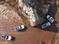 Unsere Jeeps aus der Luft