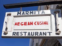 Restaurant Marmita in Megalochori.