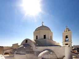 Kirche in Megalochori.