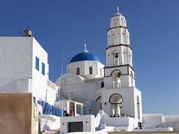 Kirche in Pyrgos.