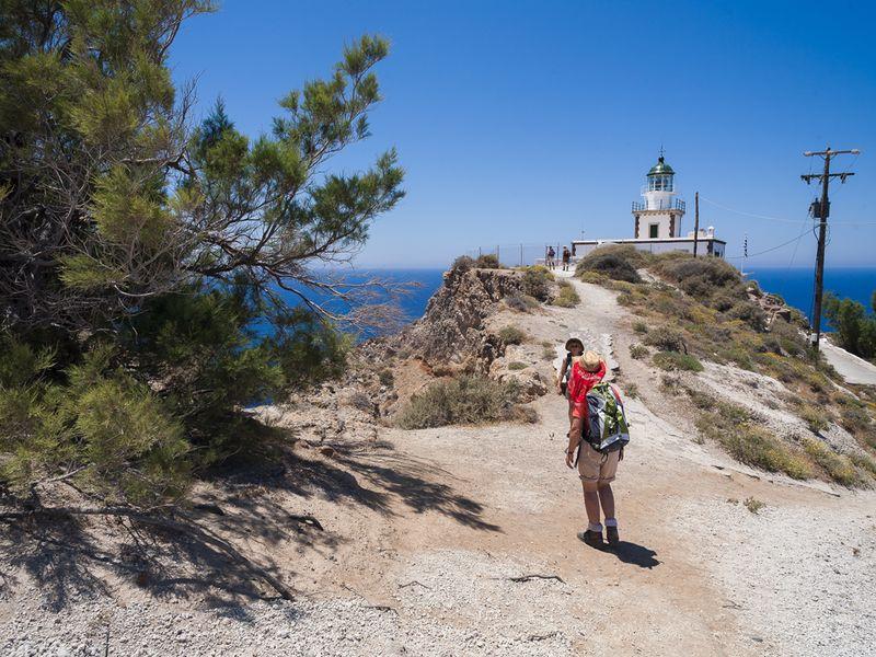 Besuch des Leuchtturms von Akrotiri (c) Tobias Schorr