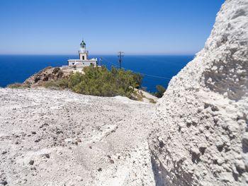 Am Leuchtturm von Akrotiri (c) Tobias Schorr