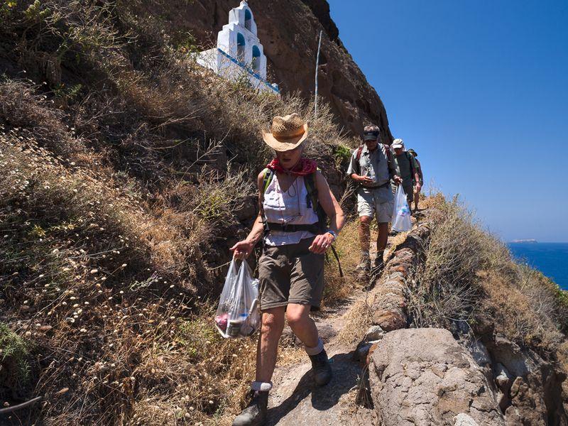 Wandern auf Santorin bietet für alle Sinne etwas! (c) Tobias Schorr