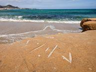 Strand bei Phylakopi im Norden der Insel Milos