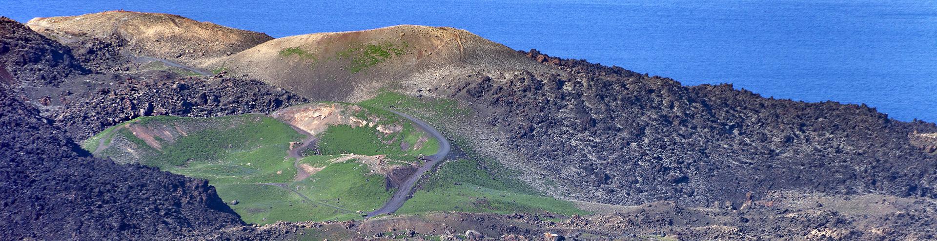 Grüner Vulkan